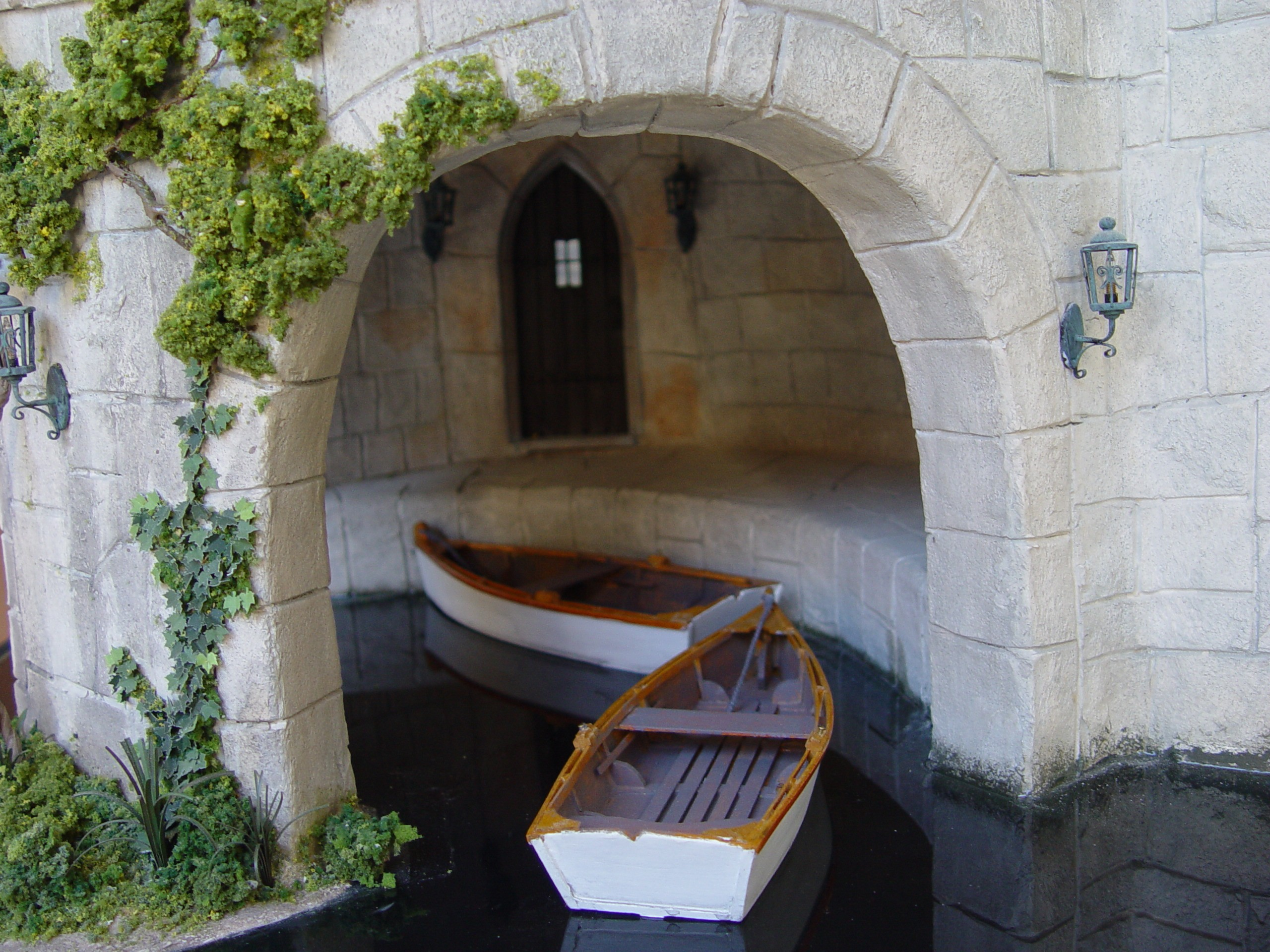 Closeup of Boat Portal