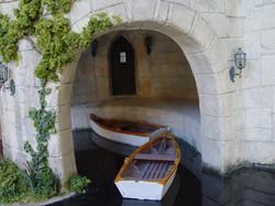 Closeup of Boat Portal