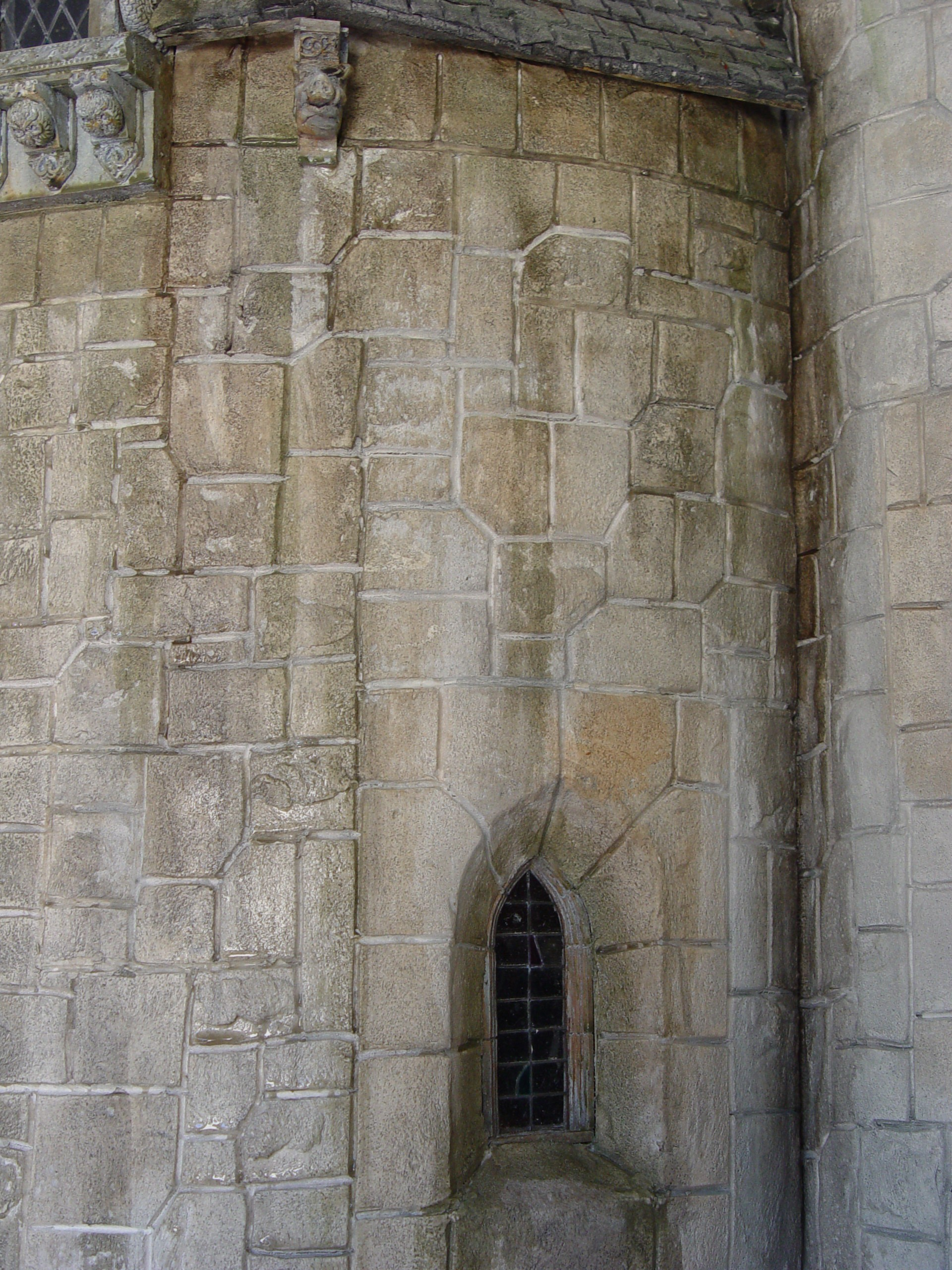 Closeup of Walls
