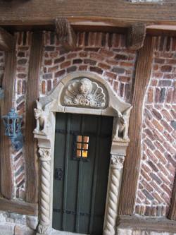 Front Door with Surround