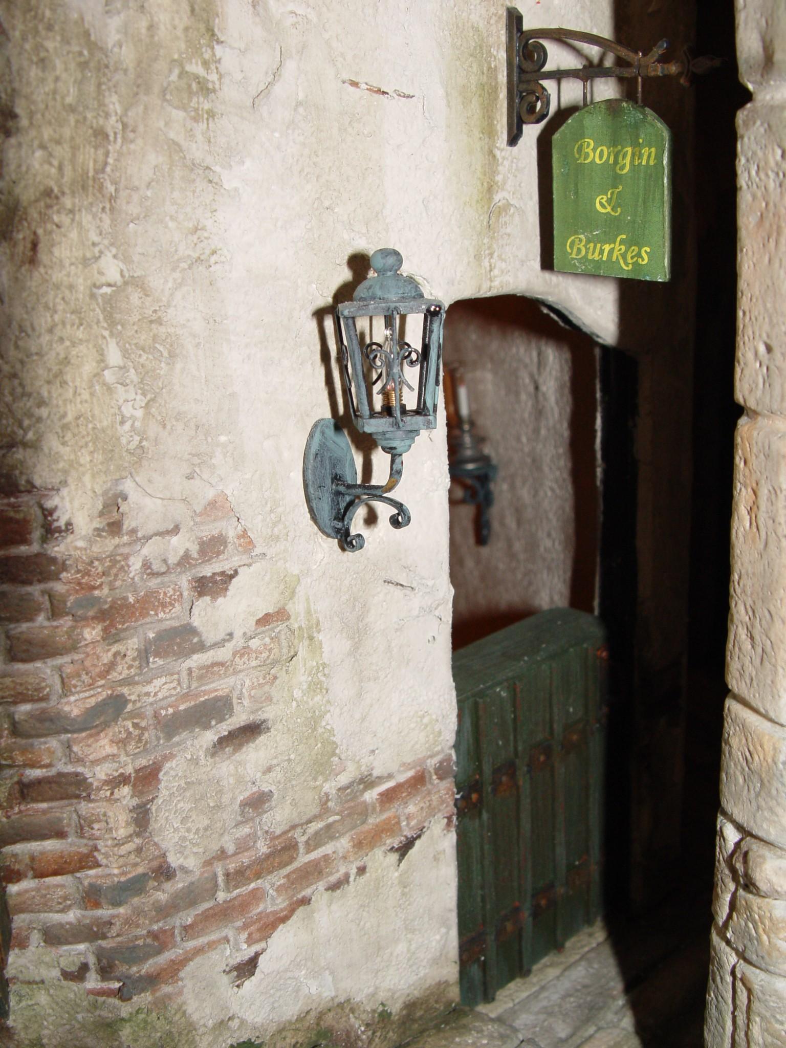 Borgin & Burkes Entryway