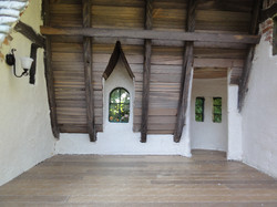 Wooden Floor and Rafters