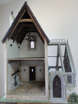 Interior Depicting Fireplace