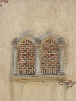 Exterior Brick w/Arch Surround