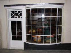 Front Door and Bow Window