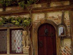 Door, Archway and Gargoyles
