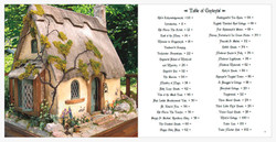 English Cottage & Table of Contents