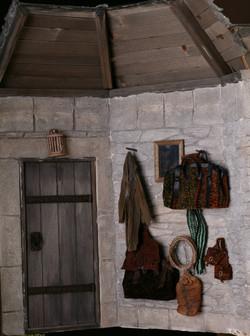 Timbers, Door, and Coat Rack