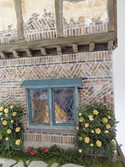 Closeup of Brickwork and Windows