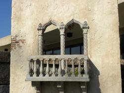 Arabic Arch and Balcony