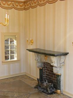 Fireplace and Window