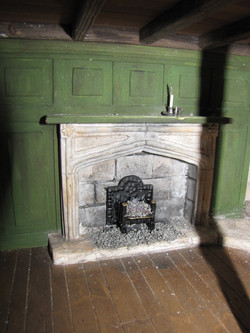 Fireplace in Leaky Caldron