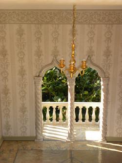 Arabic Arch & Balcony Inside View