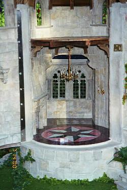 Interior Faux Marble Floor by Rik