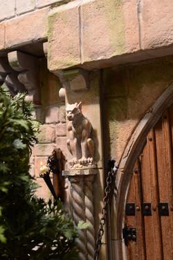 Gargoyle by Front Door