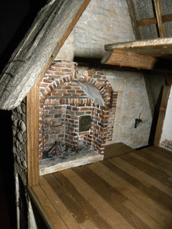 Upper Floor Fireplace