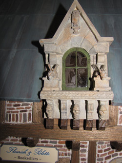 Gothic Dormer & Sign
