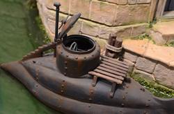 Closeup of Submarine