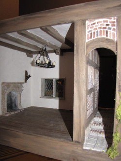 Closeup of Interior and Passageway