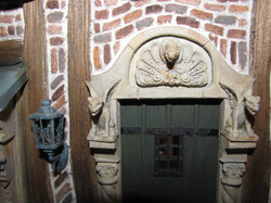 Close up of Front Door