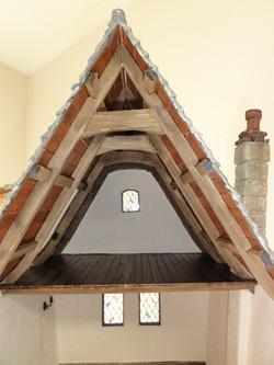 Closeup of Timbers