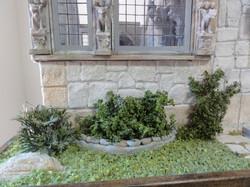 Gargoyles and Planter