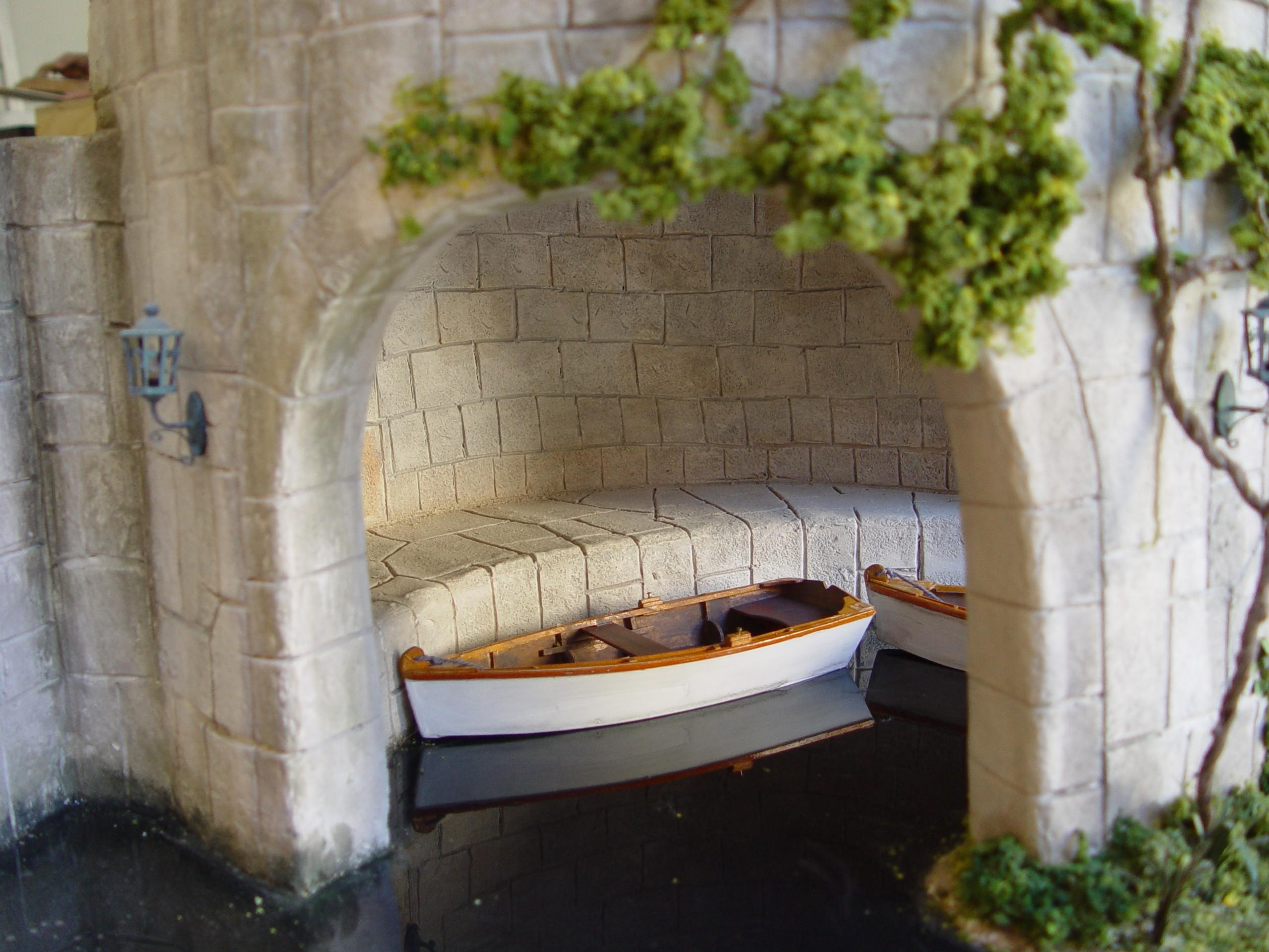 Boat Resting in Alcove