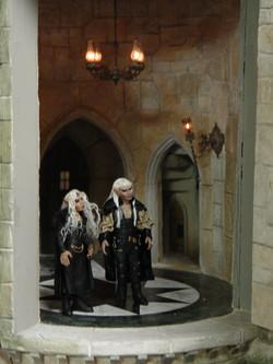 Dark Elves in Front Tower
