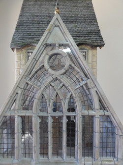 Closeup of Stone Traced Window