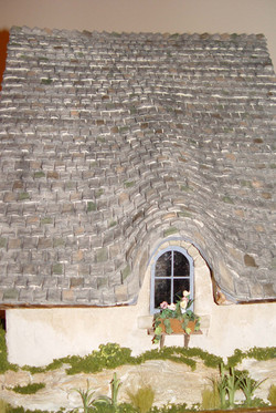 Paperclay® Tile Roof