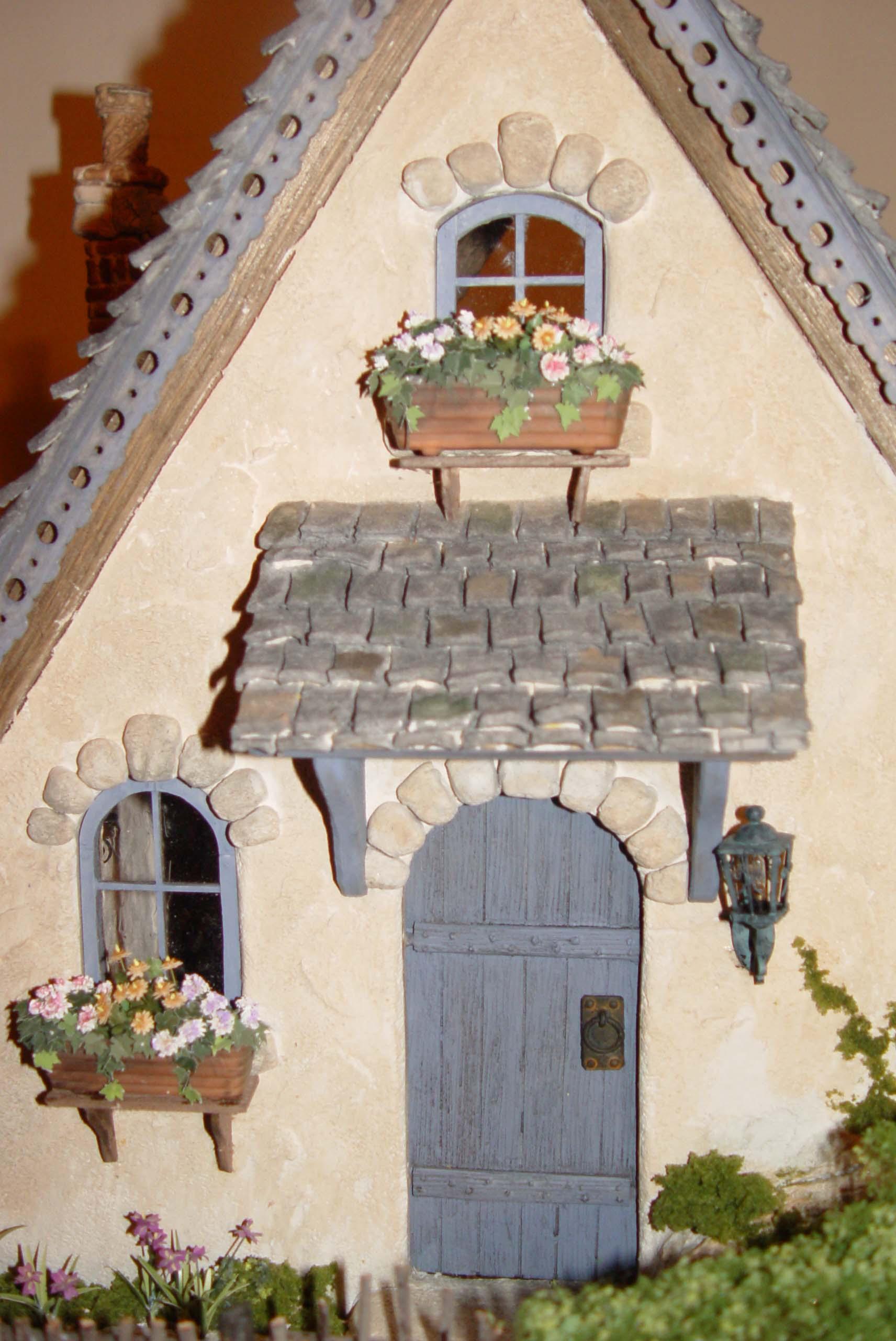 Closeup of Front Door