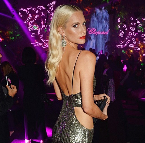 POPPY DELEVINGNE @ CANNES
