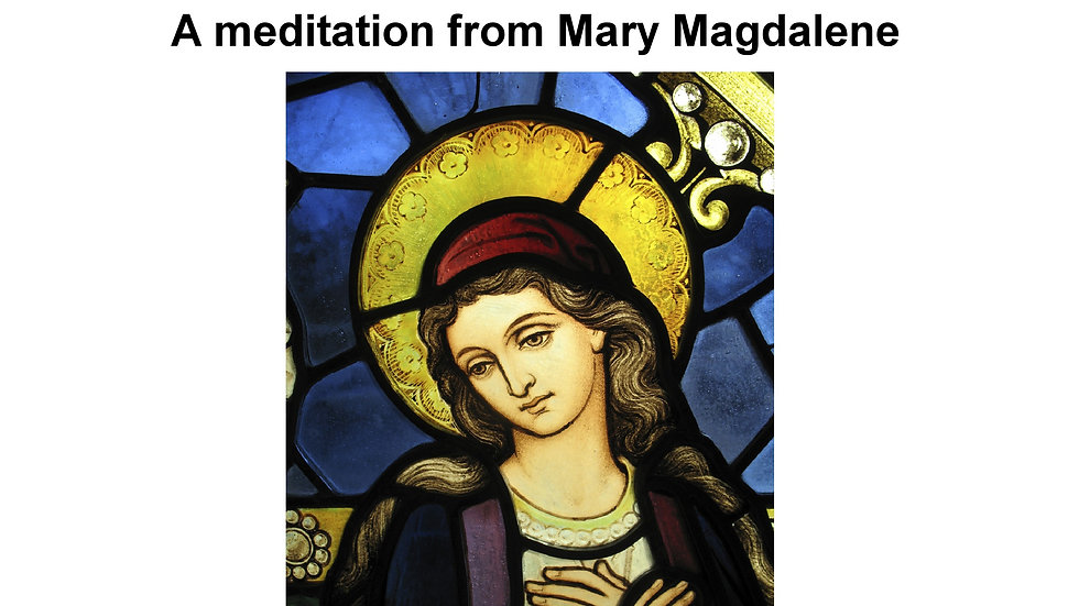 14 Mary Magdalene – The Importance of Grounding MP3