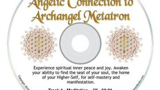 63-Angelic Connection to Archangel Metatron Guided Meditation