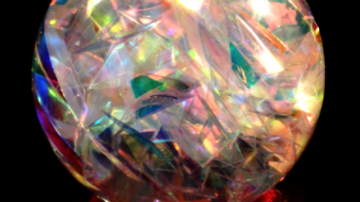 Unique Organic Electro Magnetic Light Healing Sphere 77mm (Grade B+)