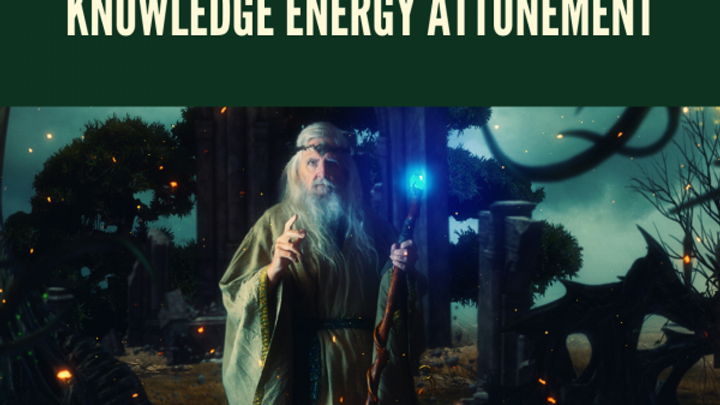 Ancient Starseed Druid Knowledge Energy Attunement