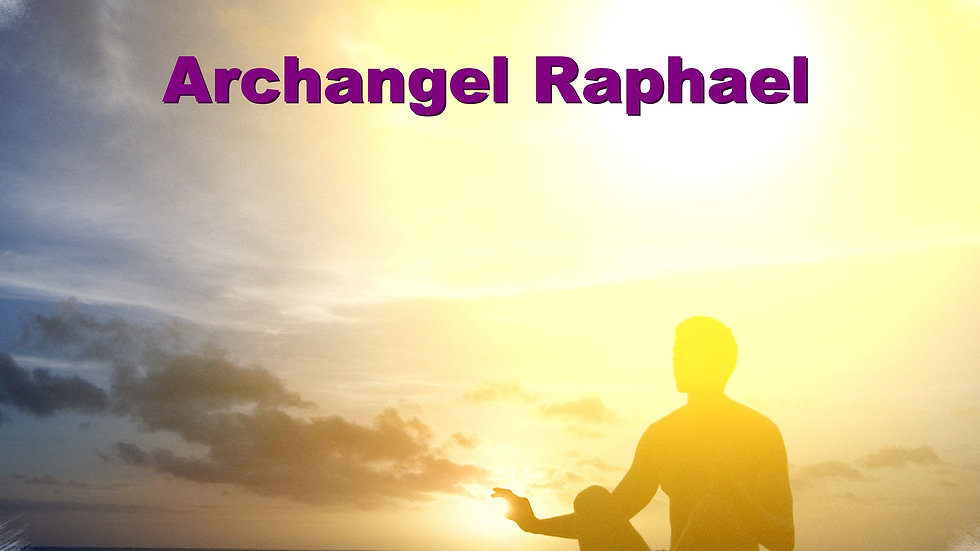 39 Archangel Raphael – Golden Light Healing