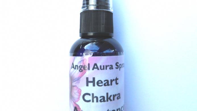 03 Heart Chakra Acceptance Angel Aura Spray
