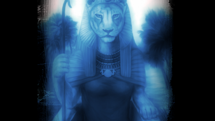 Goddess Sekhmet Blue Ray Starseed Master Light Energy Healing Attunement