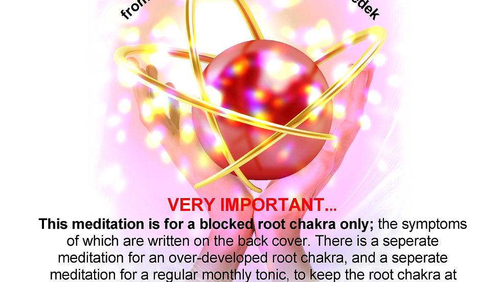 20 Lord Melchizedek – Blocked Root Chakra Therapy MP3