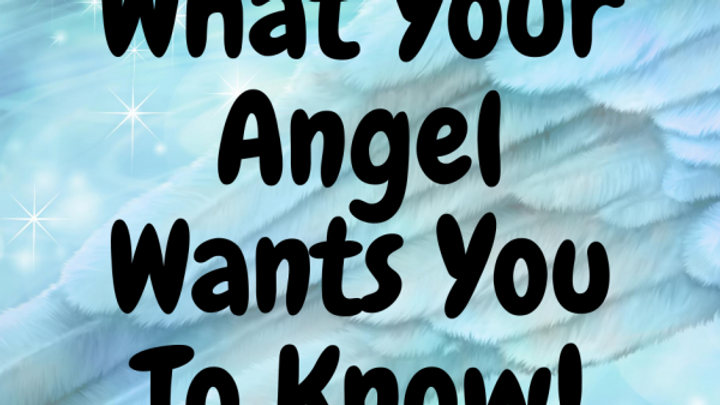 What Your Angel Wants You To Know – Angel Reading