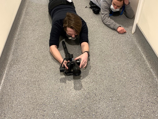 "Filming has begun on ""Generation Genome"" - 19/03/2021"