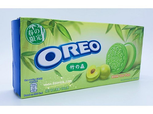 盒裝Oreo夾心餅 (酸甜青梅味)194g