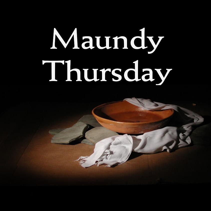 Maundy Thursday: Walk-Through Communion