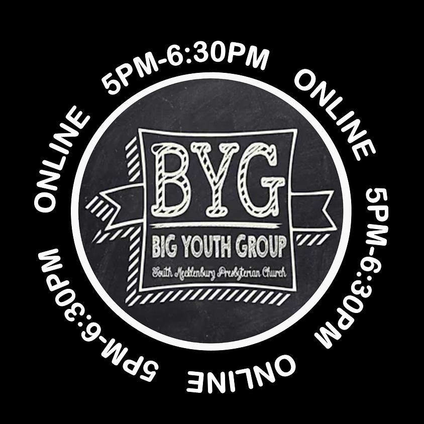 MEETING VIA ZOOM: BYG (Big Youth Group)