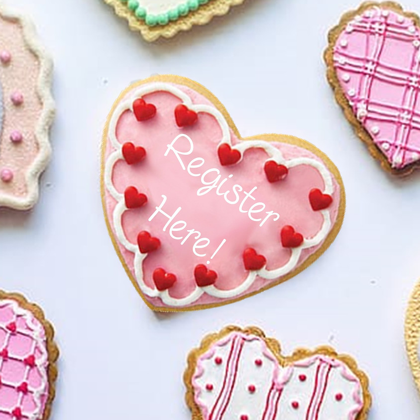 Valentine Cookies for Roof Above