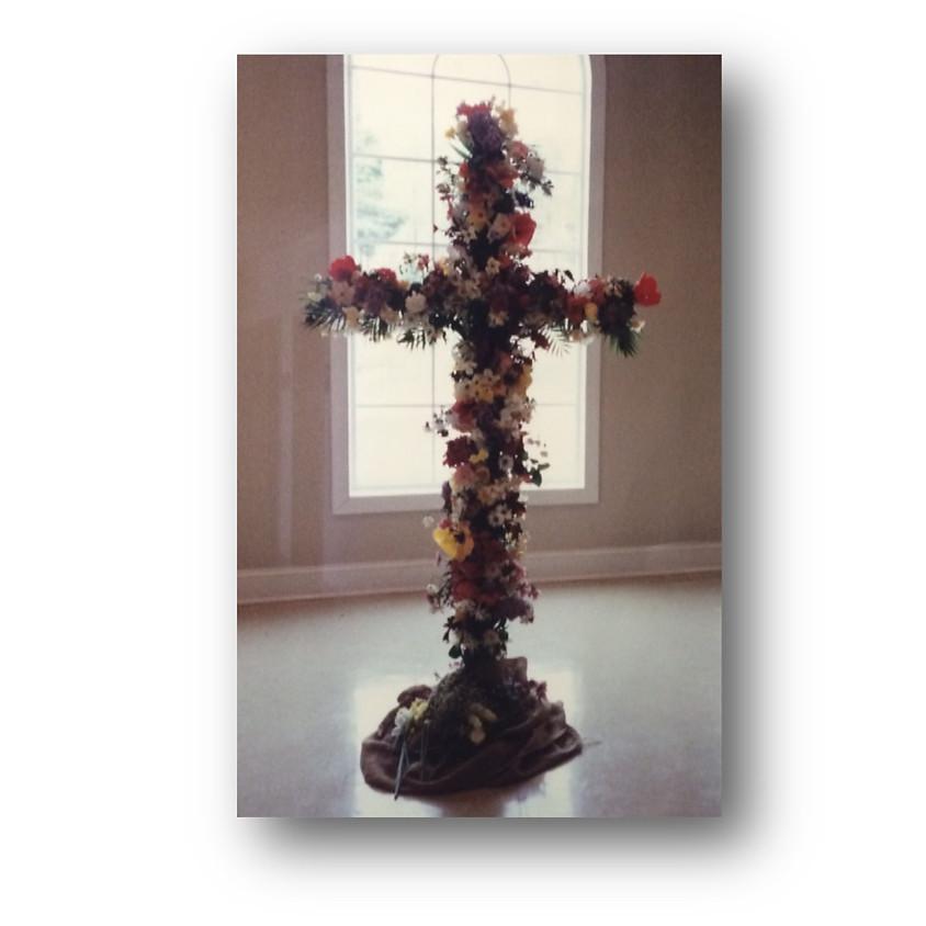 Easter Flower Cross & Photos