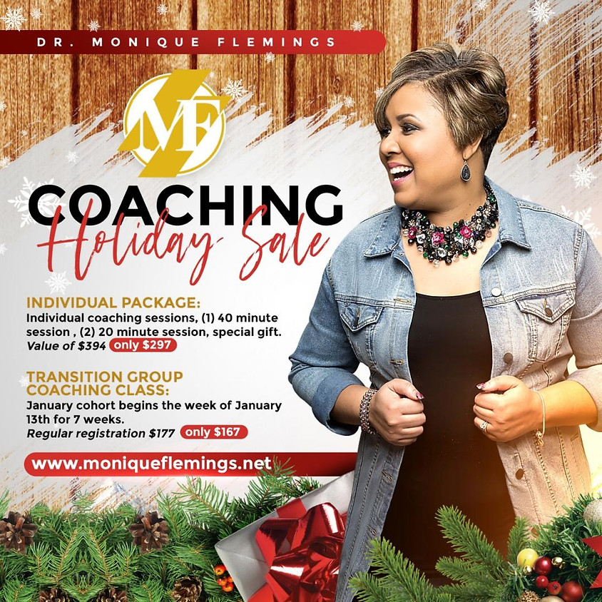 Holiday Special - Individual Coaching Package