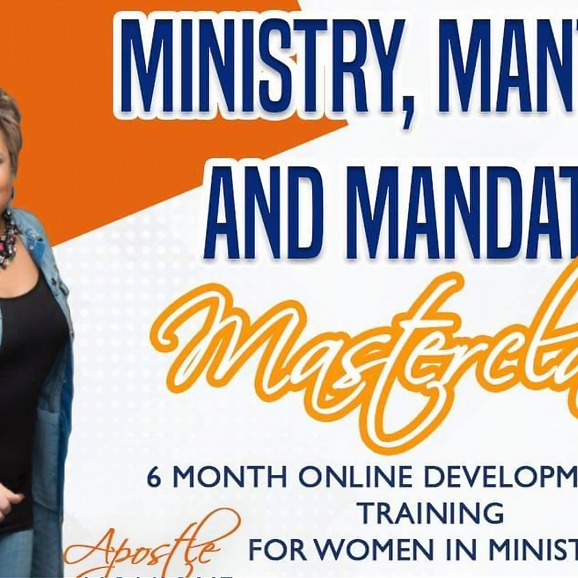 Ministry, Mantles and Mandates Masterclass