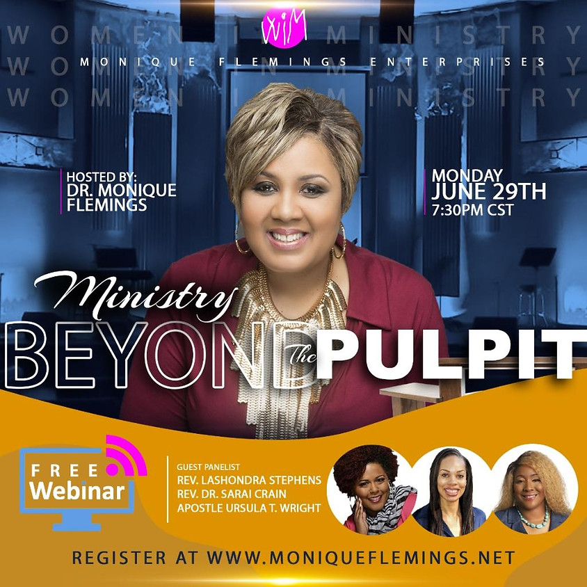 Ministry Beyond The Pulpit